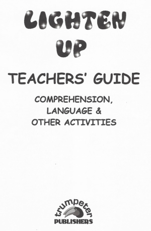 Lighten Up Teacher Guide